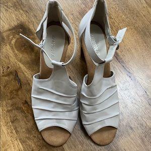 Aerosoles open toed heels